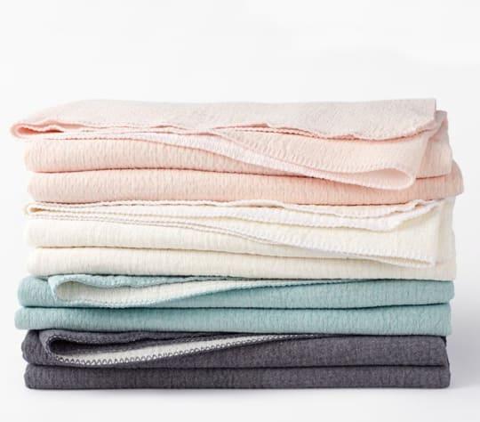 Cozy Cotton Blanket at Coyuchi
