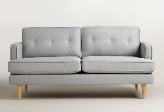 Dove grey woven Apel sofa