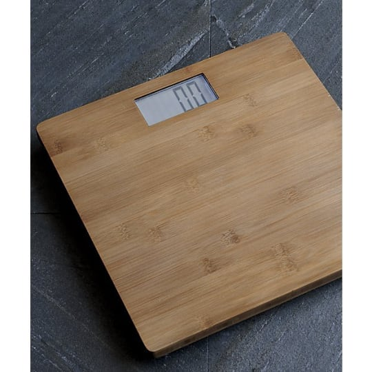 Dixon Bamboo Bathroom Scale