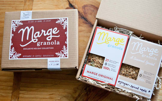 Holiday Gift Box from Marge Granola