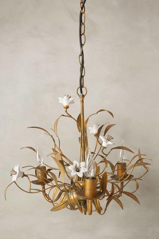 Burgeoning Blooms Chandelier