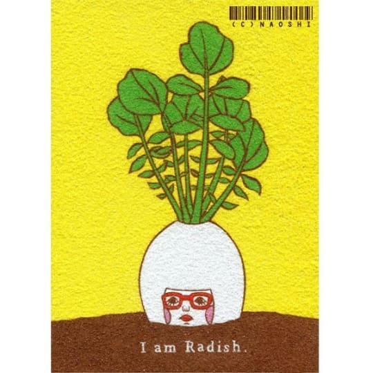 I am Radish (Limited Edition Print) from Naoshi