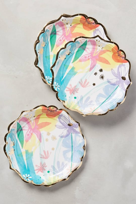 Spring Bouquet Plates from Anthropologie