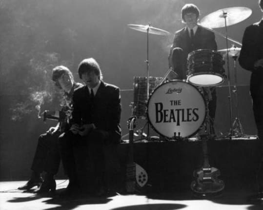 The Beatles on the Set of Shindig by David Redfern