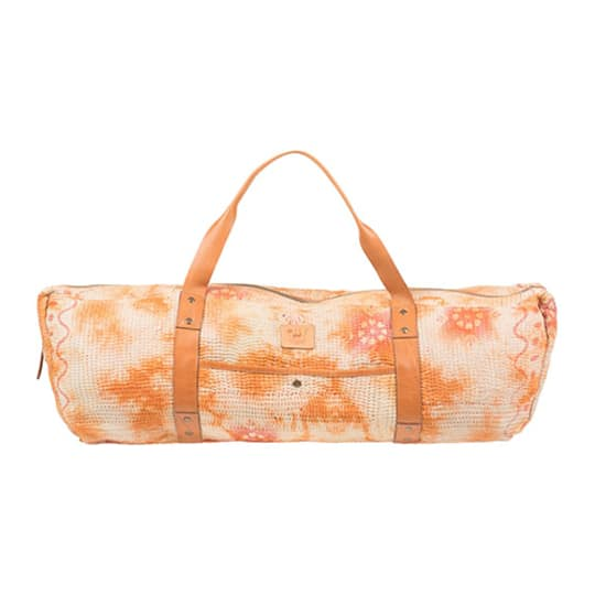 Kantha Quilted Yoga Duffle at Will Leather Goods