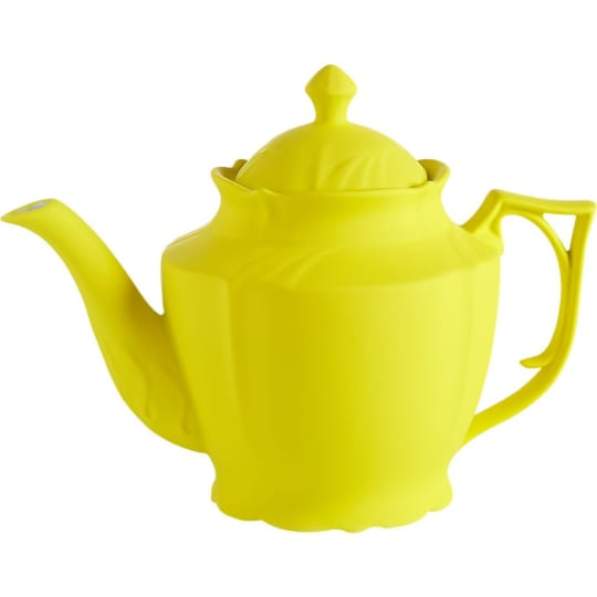 Lizzy Yellow Teapot from CB2`