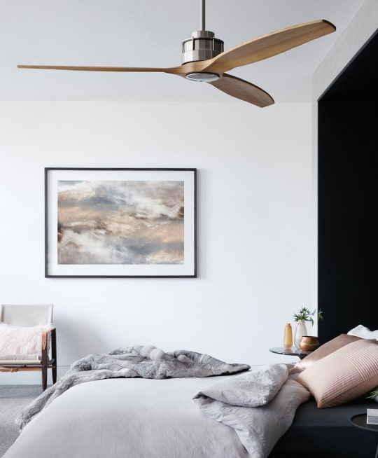Airfusion Akmani Brushed Chrome 60-Inch Ceiling Fan