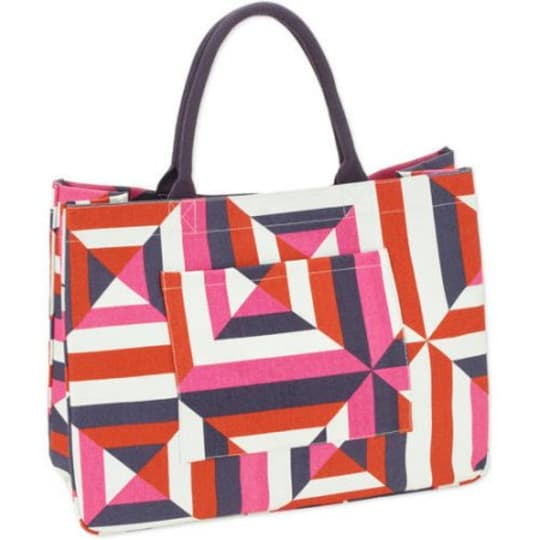 No Boundaries 20'' Women's Printed Canvas Tote Beach Bag