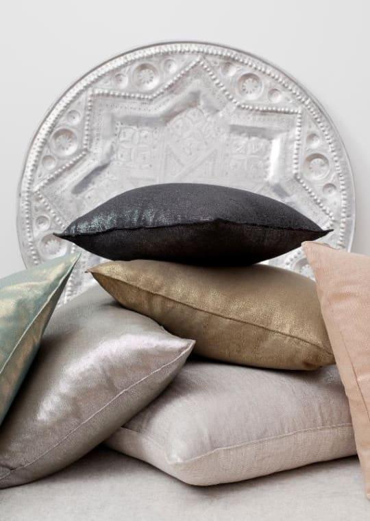 Lustre Linen Pillows
