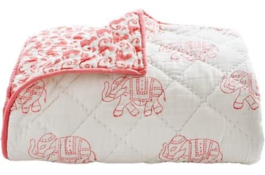 Rikshaw Design Toddler Quilt Taj Pink