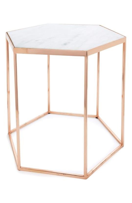 Bloomingville Hexagonal Accent Table