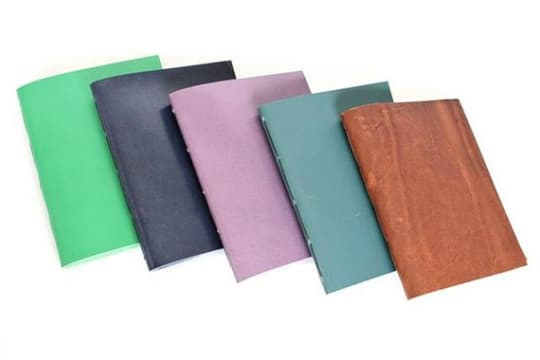 Hand Stitched Leather Pocket Notebook