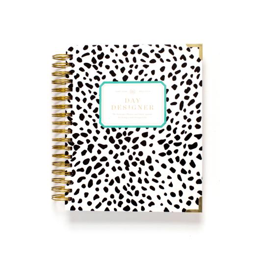 Day Designer Flagship Edition, in Black Spotty Dot