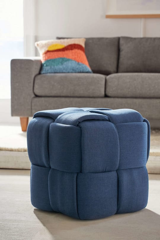 Topper Woven Ottoman at Urban Outfitters