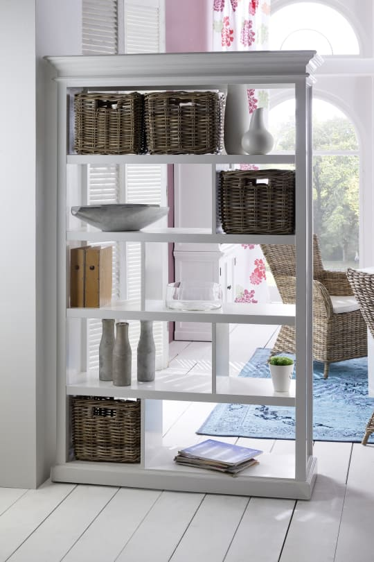 Room Divider with Basket Set at Wayfair