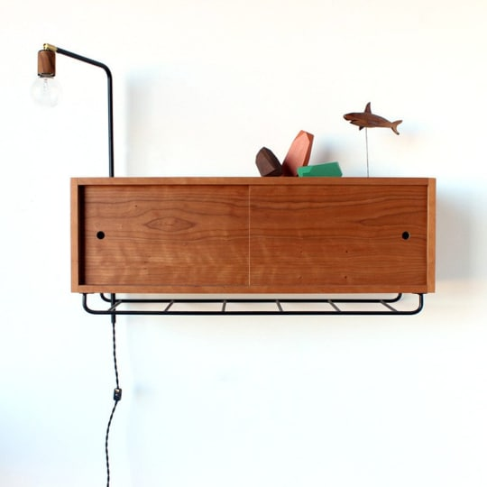 Wall Storage Cabinet at One Forty Three