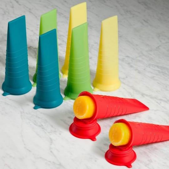 Kinderville Little Bites Ice Pop Molds