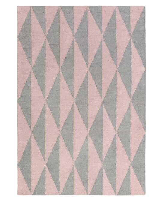 Brogan Rug in Pink