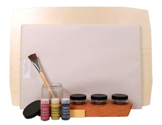 Watercolor Painting Set by Camden Rose