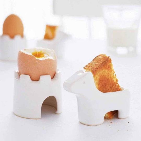 Egg And Soldiers Breakfast Set by Takae Mizutani