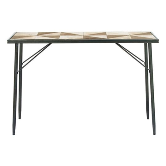 Wood and Metal Console Table at AllModern