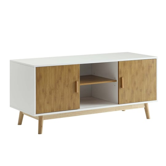 Convenience Concepts Designs2Go Oslo TV Stand, White