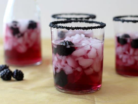 Black Cocktail Rimming Sugar from Dell Cove Spice Company