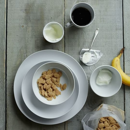 Basic White Bowls from West Elm