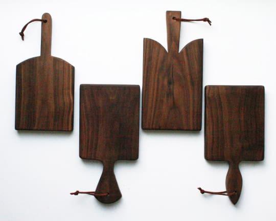 Mini Walnut Bread Boards from Red Maple Run
