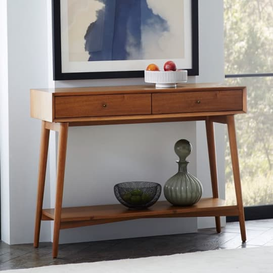 West Elm Mid-Century Console Table