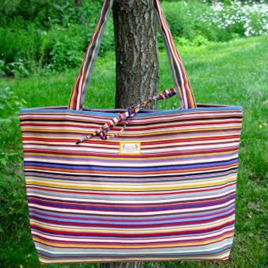 Tom Multicolore Beach Bag