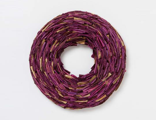 Bean Pod Wreath from Terrain