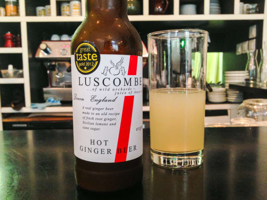 Luscombe Hot Ginger Beer