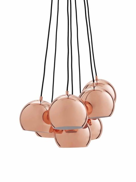 France & Son Helmut Multi Pendant in Copper