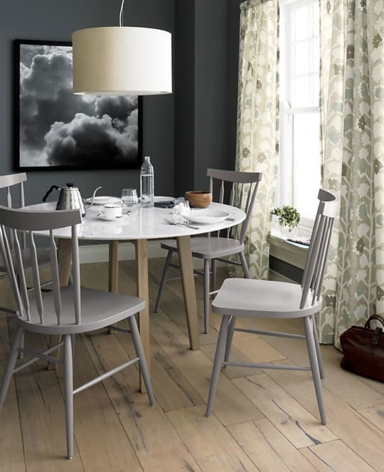 Willa Dove Side Chair from Crate and Barrel