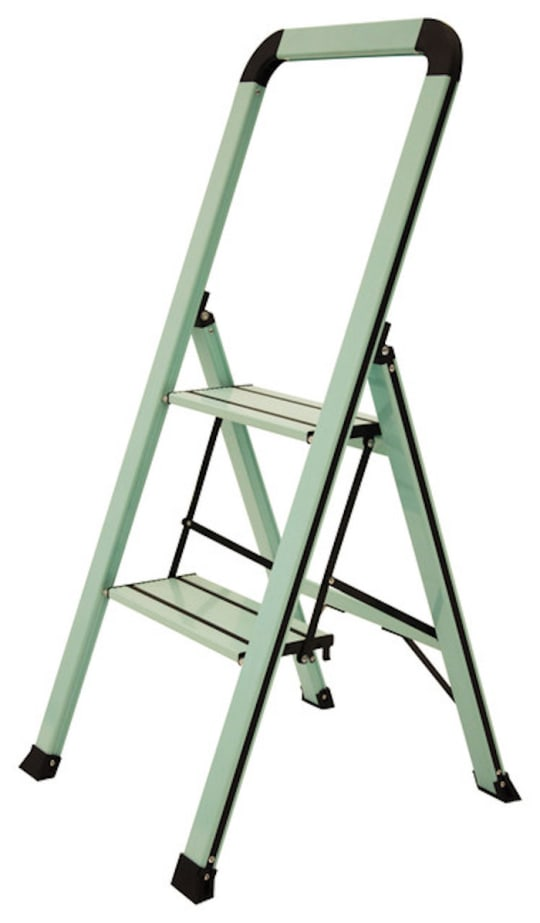 Designer Series Slim 3-Step Ladder in Teal