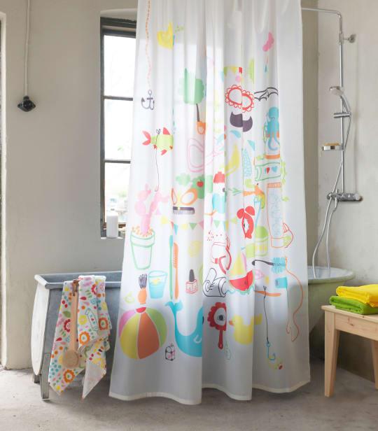 BADBÄCK Shower Curtain