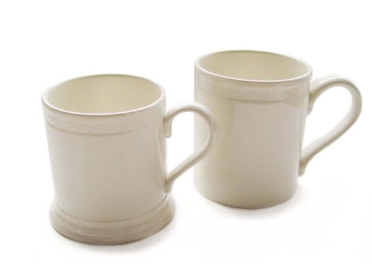 Hunslet Mugs from Leeds Pottery