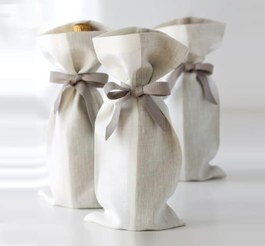 Linen Gift Bags from Studiopatró