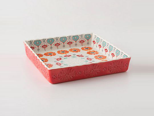 Poppy Ring Brownie Dish from Anthropologie