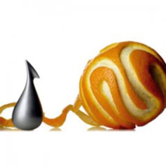 Apostrophe Orange Peeler from Alessi