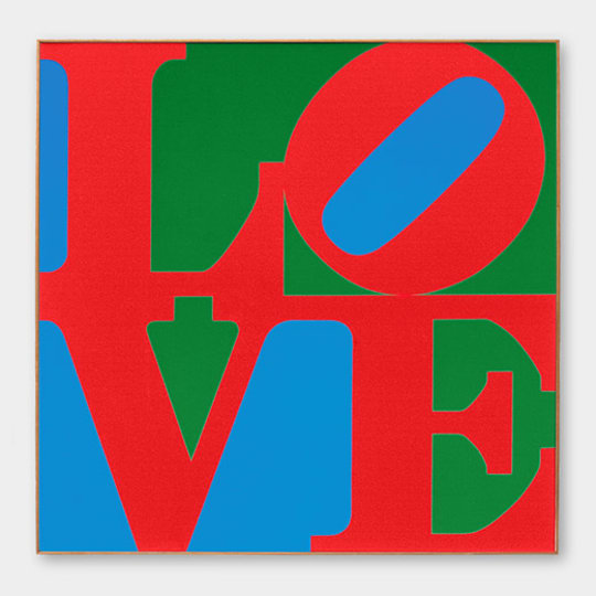 LOVE Print by Robert Indiana