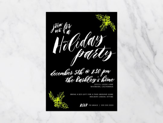 Christmas Party Invitation from Kinvite