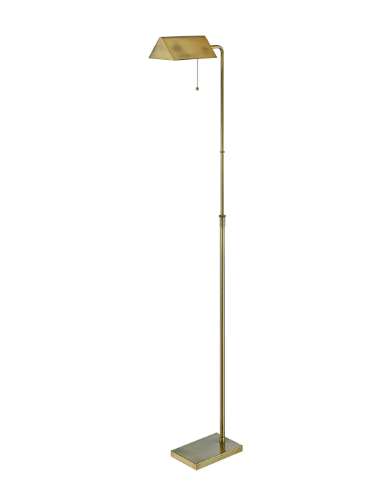 Wayland Floor Lamp, Brushed Brass at Amazon