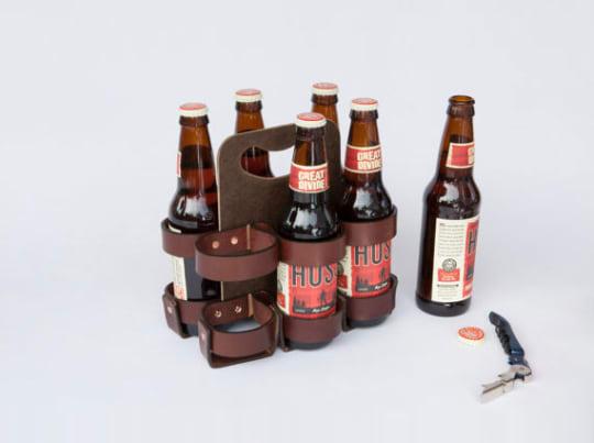 Reusable Beer/Soda Carton from Walnut Studio