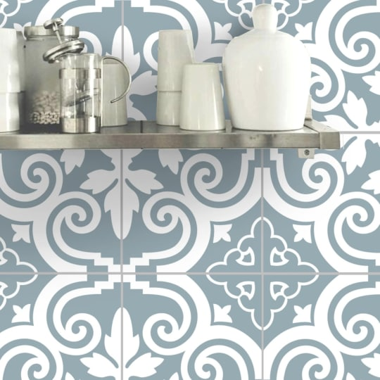 Wall Tile Vinyl Decal Sticker Or Removable Wallpaper For Kitchen Bath From Snazzy Decals