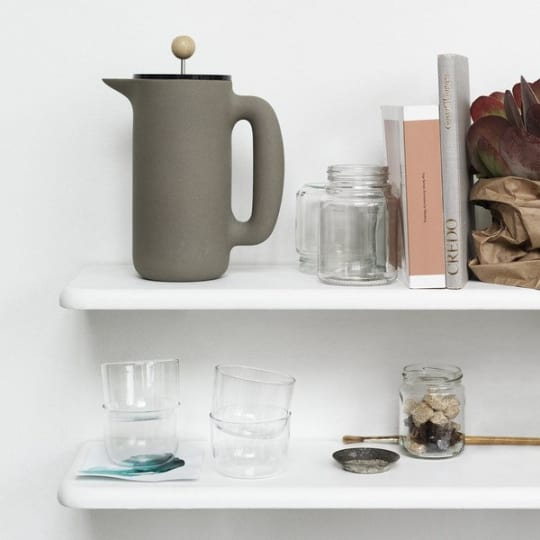 Push Coffee Maker by Mette Duedahl for Muuto