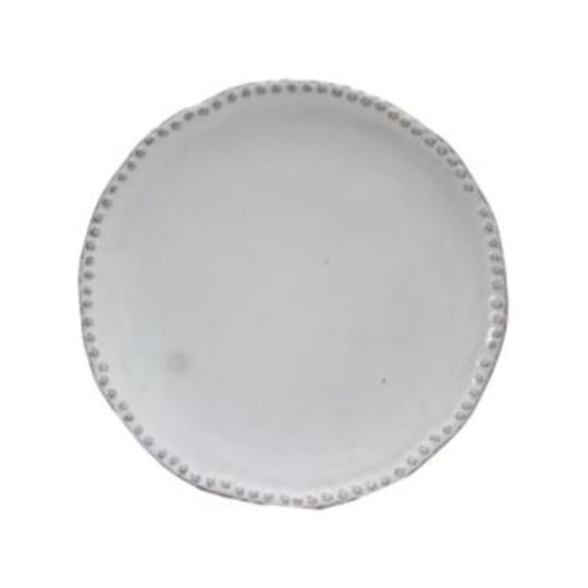 Tribeca Beaded Ceramic Salad Plate