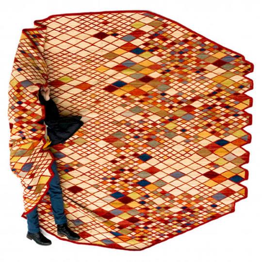 Losanges Rug by Ronan & Erwan Bouroullec