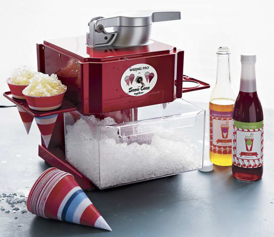 Red Metallic Snow Cone Maker by Waring
